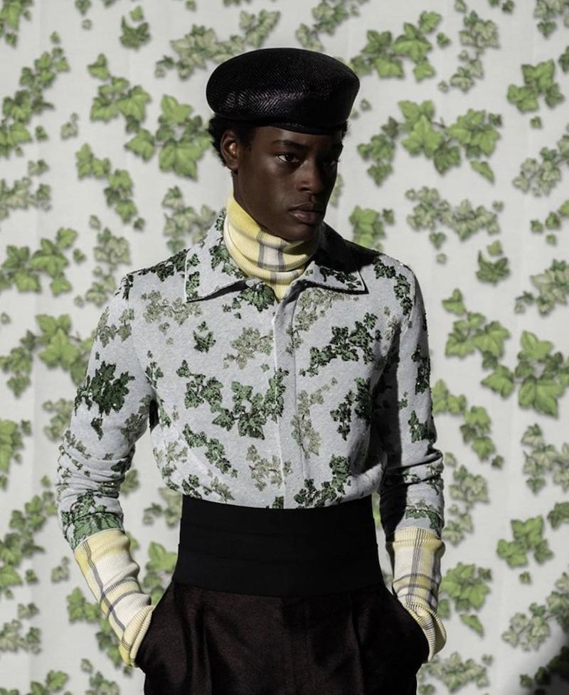 Dior SS21 men Amoako Boafo