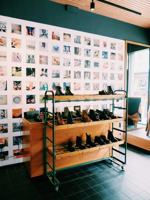 Grenson English shoes Lambs Conduit Street London