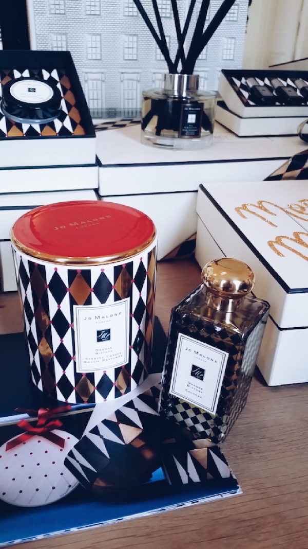 Jo Malone Christmas 2016 collection ceramic candle and cologne in Orange Bitters