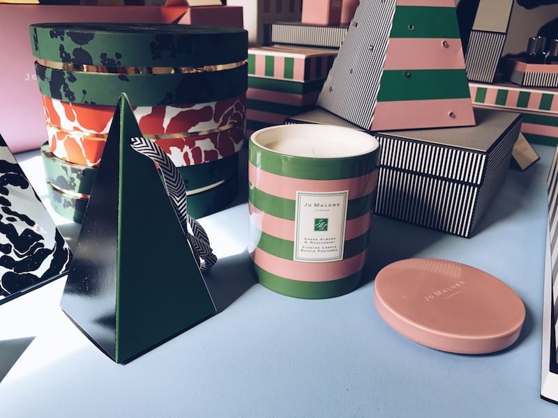Jo Malone Christmas 2017 Green Almond & Redcurrant candle