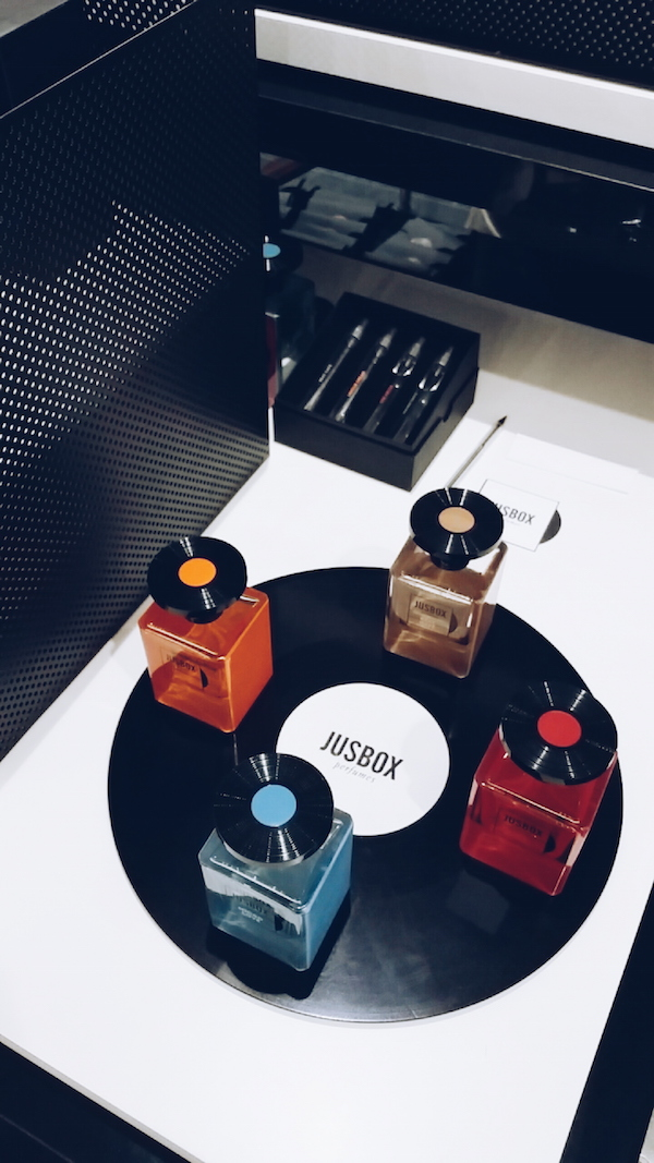 Jusbox at Selfridges fragrance concept space ground floor