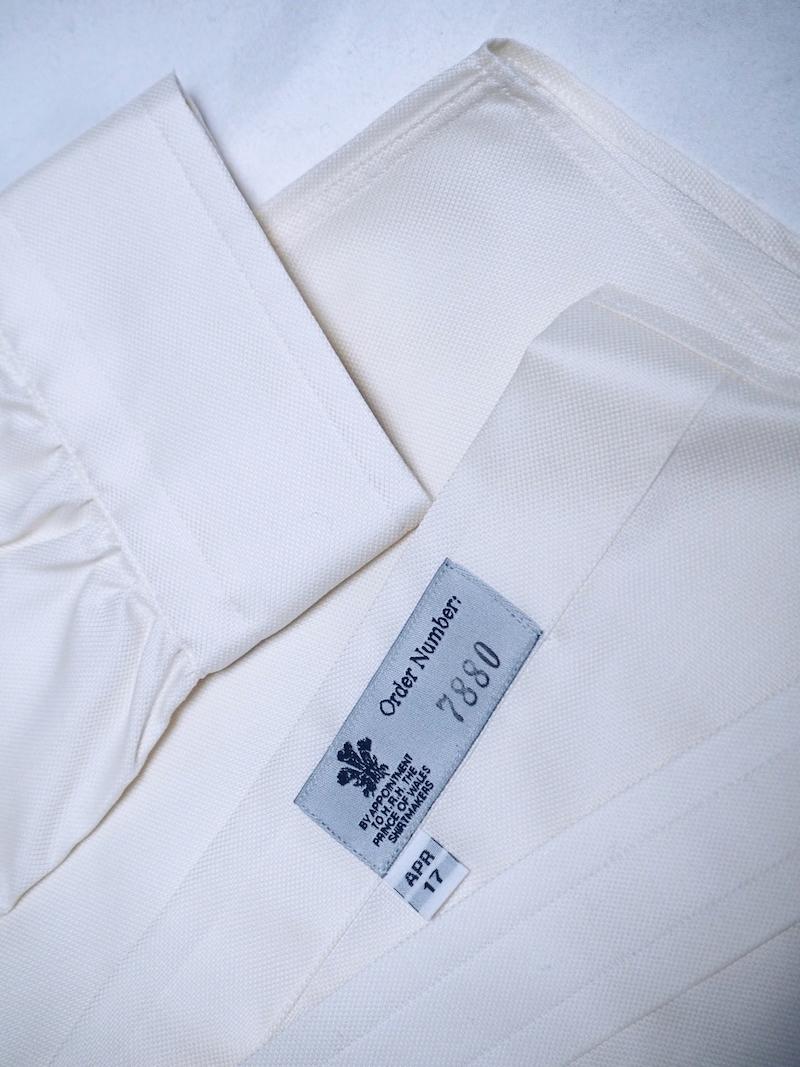 Turnbull & Asser bespoke shirt for women
