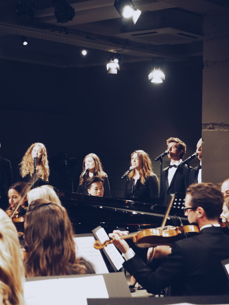 Burberry September 2016 orchestra