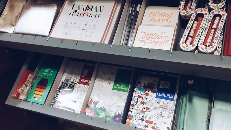 Anthropologie colouring books