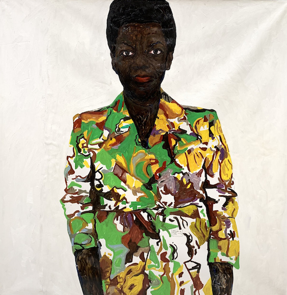 Black Diaspora Amoako Boafo - Thelma in colored blazer