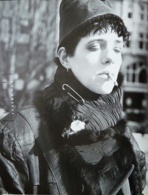 CAROLINE HOUGHTON IN BLITZ MAGAZINE, 1986. Styling and Photo by Iain R Webb