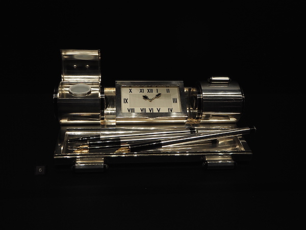 Cartier Desk set with clock 1931 Cartier in Motion The Design Museum