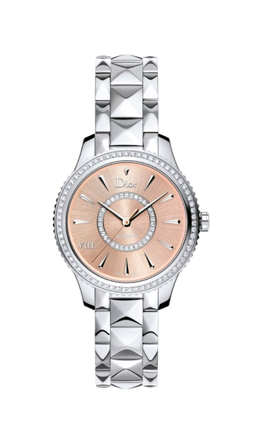 4 DIOR-VIII-MONTAIGNE-PINK-SUN-BRUSHED-STEEL-DIAL-32MM