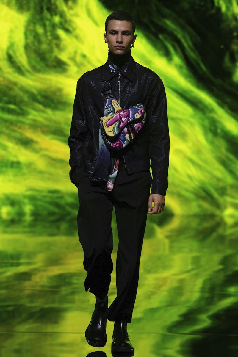 Dior homme Kenny Scharf autumn 2021
