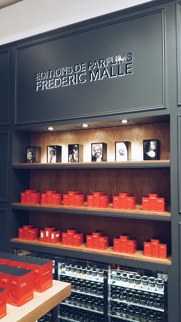 Frederic Malle Selfridges fragrance concept space ground floor