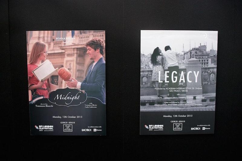 Giorgio Armani Films of City Frames