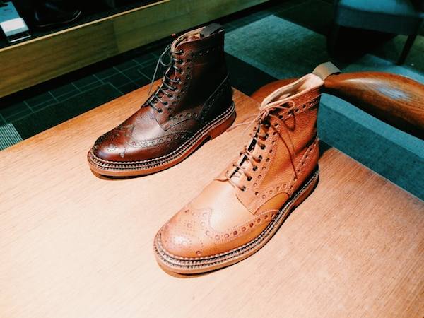 Grenson Aw14 triple welt sole shoes for men and women