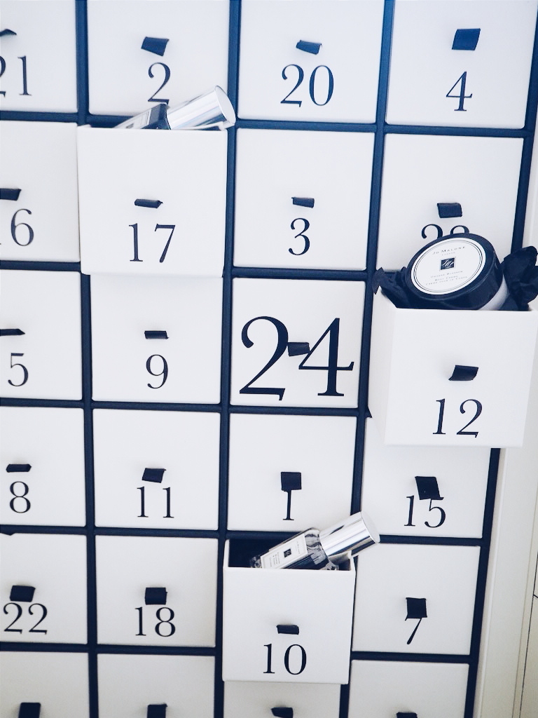 Jo Malone luxury advent calendar.