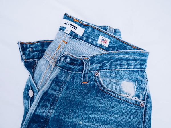 ReDone jeans - vintage 501s modified with an updated cut