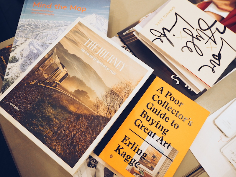 Anthropologie coffee table books