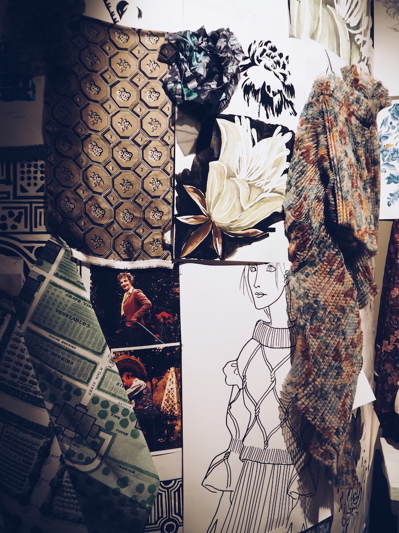5 Burberry Makers house mood board wall