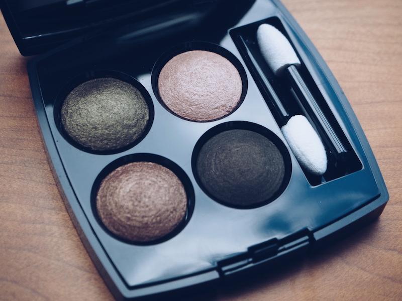 Chanel aw15 makeup Les 4 Ombres 254 Tisse d'Automne