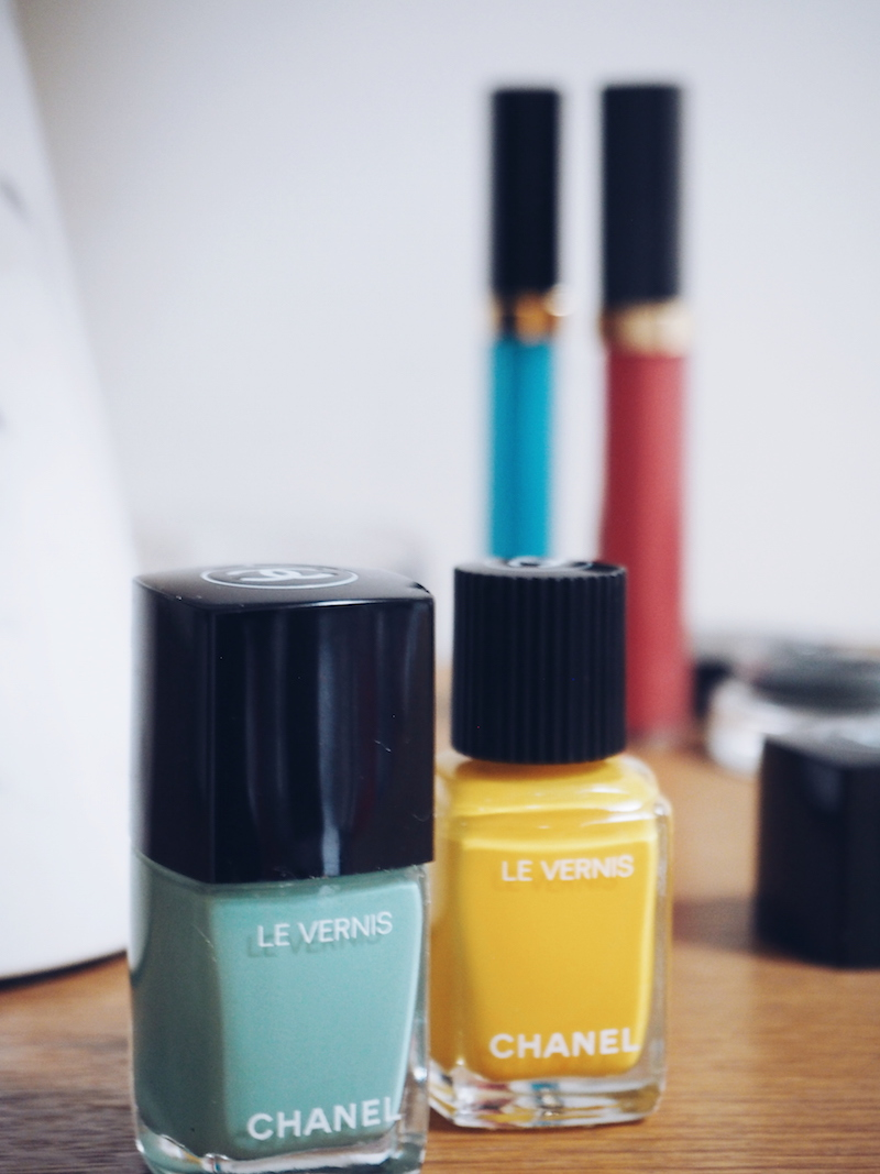 Chanel Neapolis New City SS18 nails