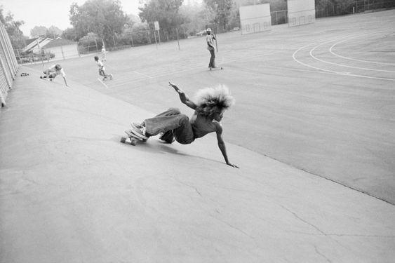 Hugh Holland - Silver. Skate. Seventies. Beginner Viper Bowl - Hollywood 1976
