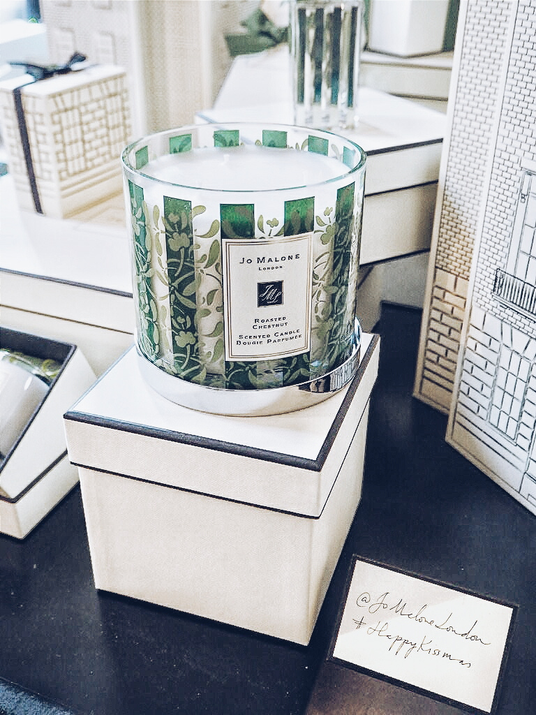 Jo Malone London Christmas 2015 Roasted Chestnut Delux candle