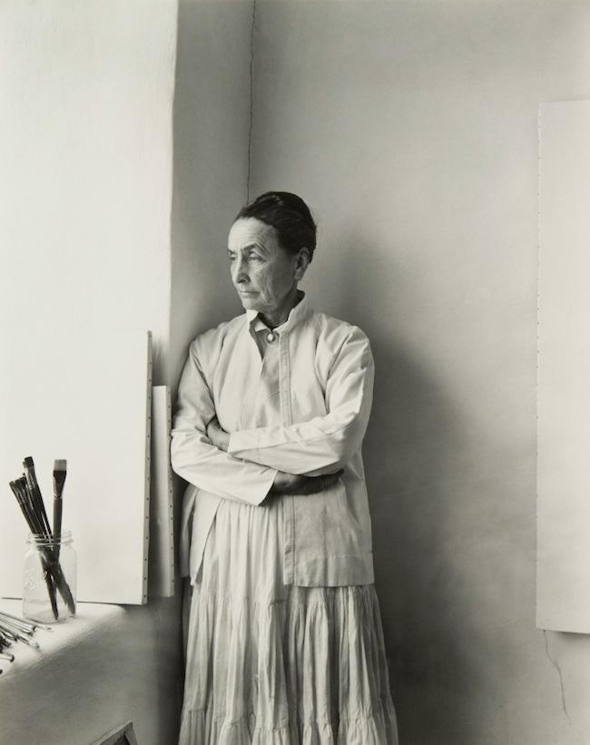 Georgia O'Keeffe wardrobe