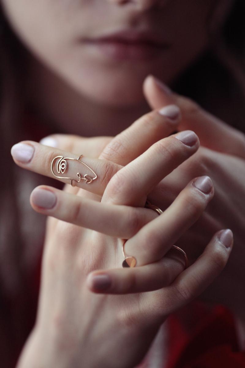 Navaz Batliwalla Disneyrollergirl shoot Photography by Chiara Romangnoli jewellery by Sarah & Sebastian