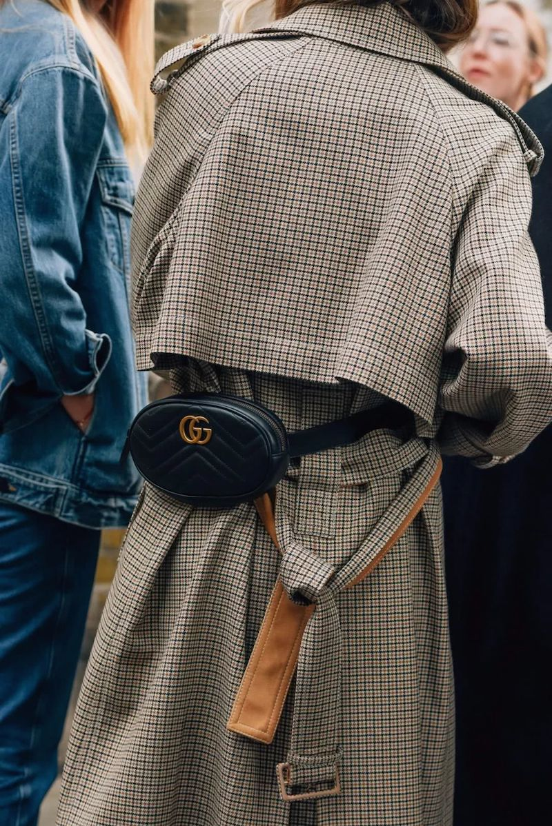 Tommy Ton Gucci belt bag