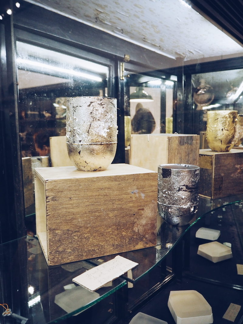Burberry Makers House silversmith shop