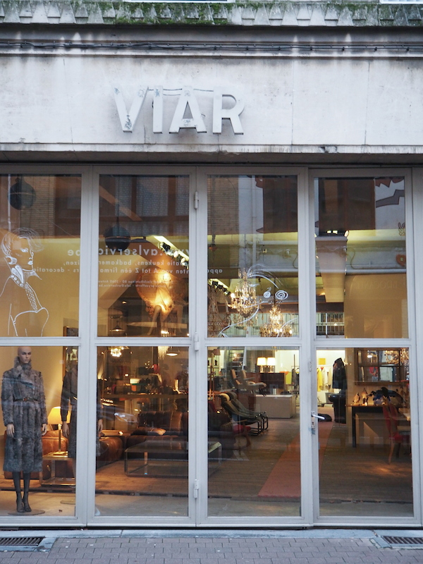 Antwerp vintage store VIAR