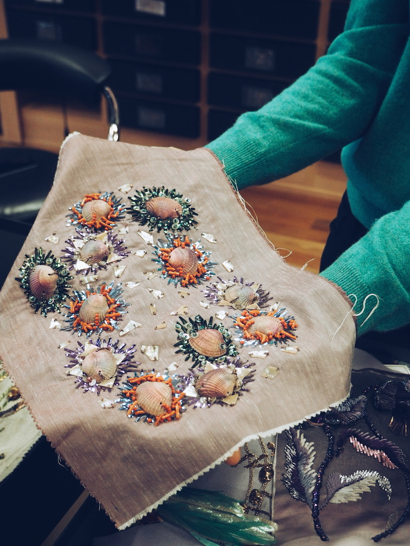 Chanel lesage embroidery archive