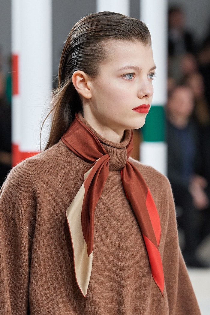Hermès AW20 and Hermes Rouge make-up