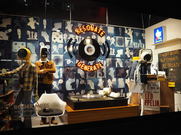 Roger Miles' window for Selfridges Bright Old Things