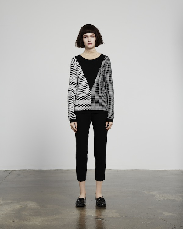 6 Square dots triangle sweater – Chinti and Parker meets Patternity - £420