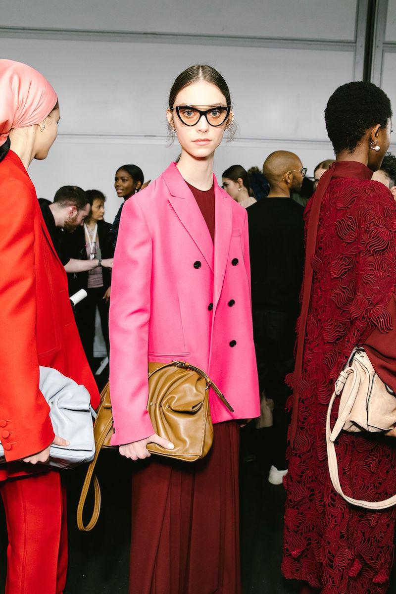 Valentino AW18 pink jacket