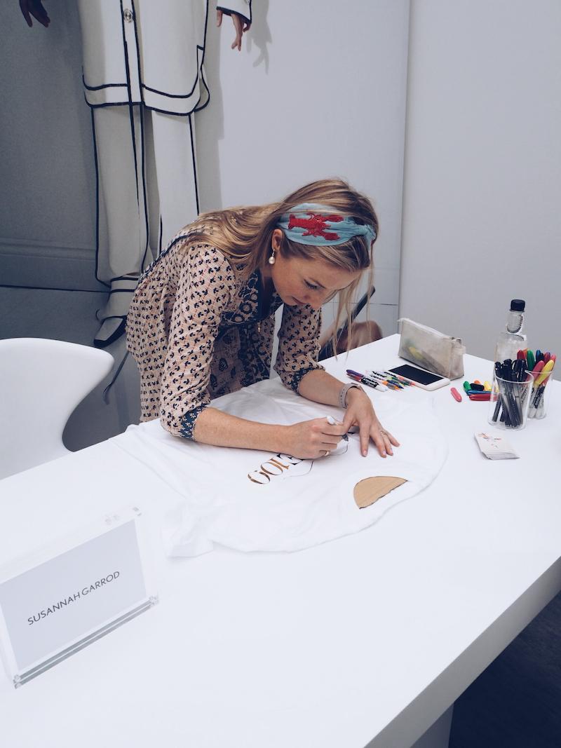 Vogue Festival customisation by Susannah Garrod