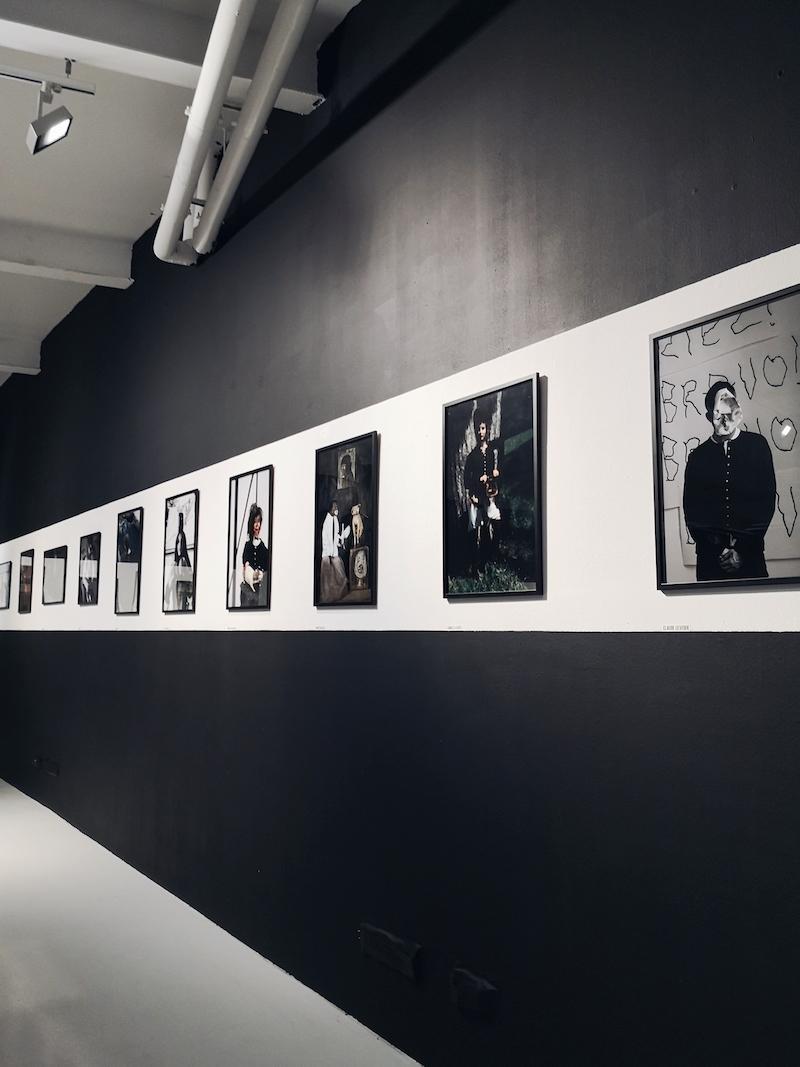 Agnes b snap cardigan exhibition, Paris