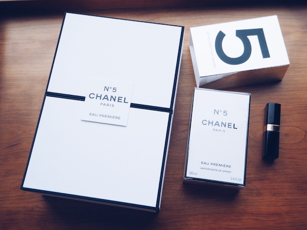 Chanel No 5 Eau Premiere in limited edition silver packaging