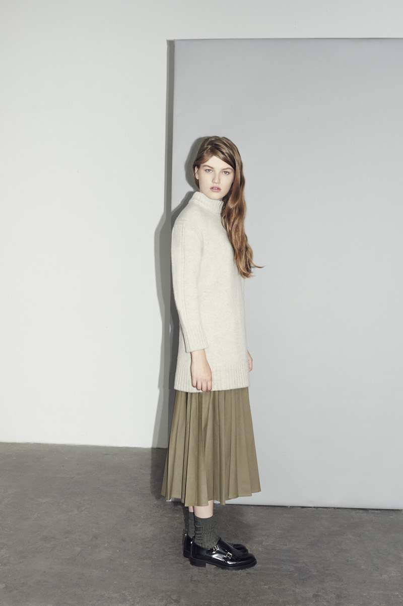 & DAUGHTER aw15 luxury cashmere knitwear