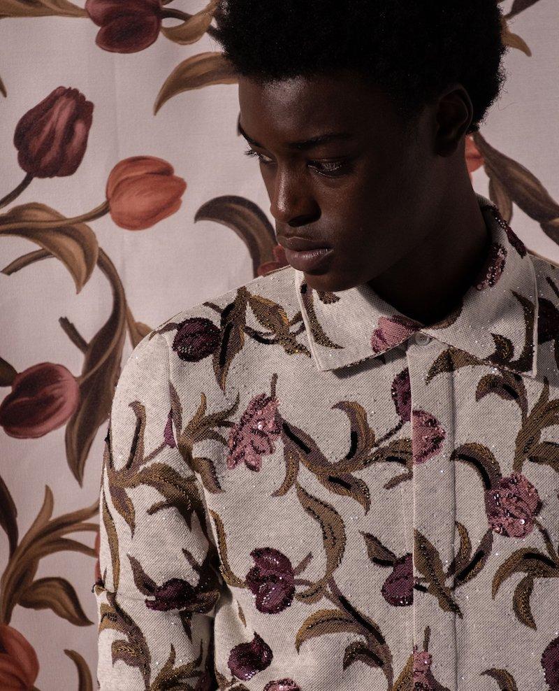 Dior SS21 men inspired by Ghanaian artist Amoako Boafo