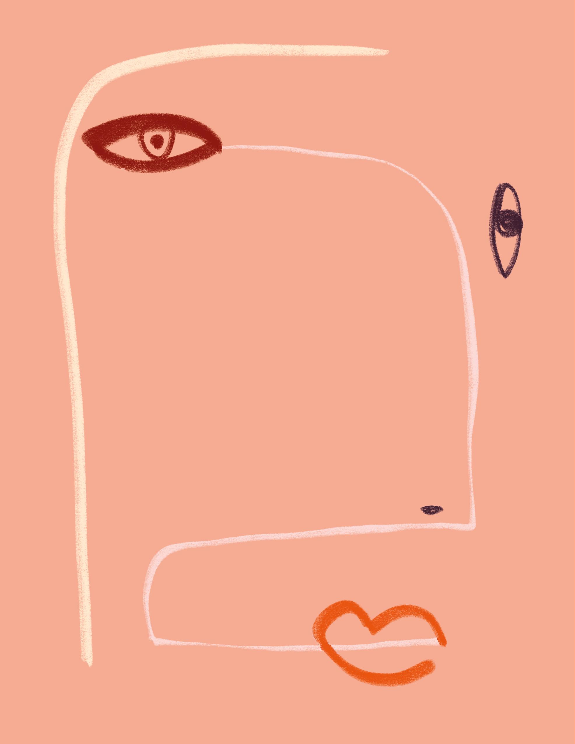 Face Values book by Navaz Batliwalla- back cover illustrated by Shira Barzilay