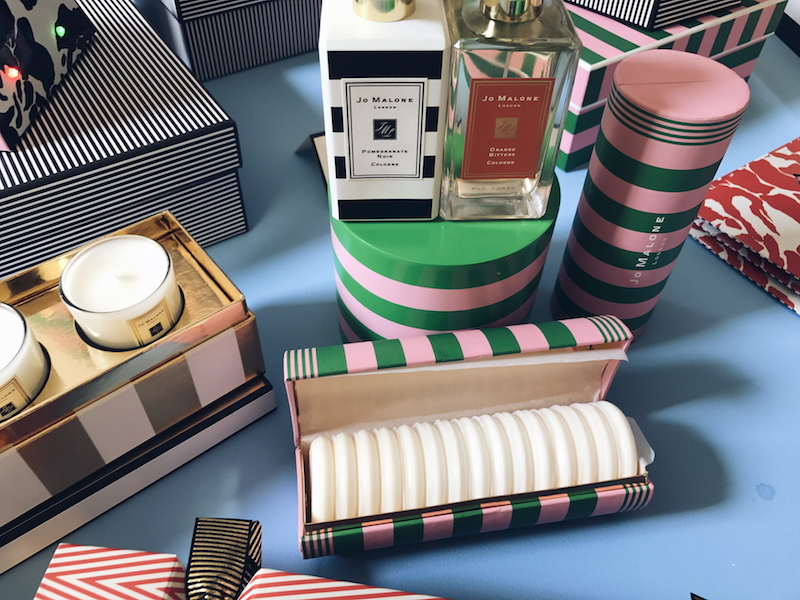Jo Malone Christmas 2017 miniature soap collection