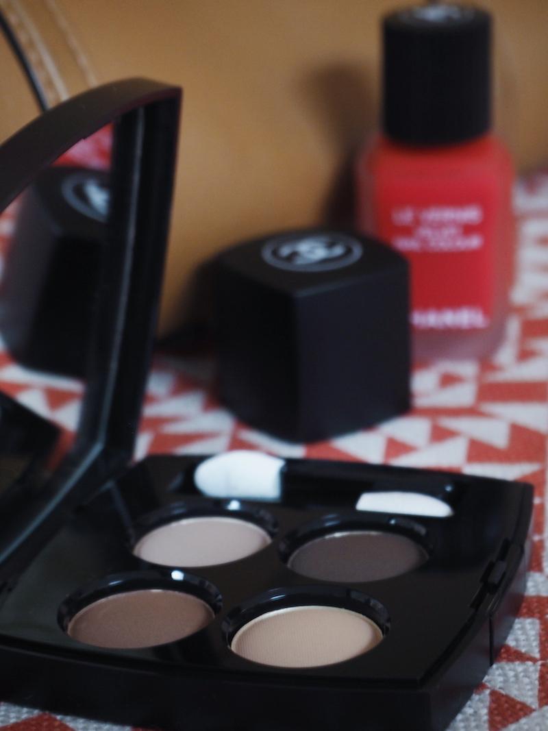 Le Mat de Chanel Clair Obscur eyeshadow quad