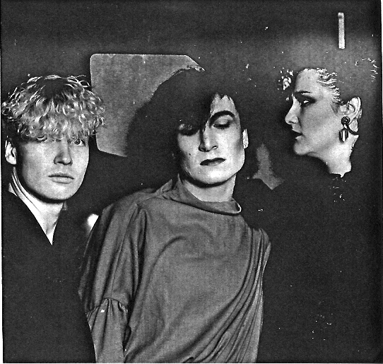 IAIN R WEBB, GREGORY DAVIS AND FIONA DEALEY, CIRCA 1979