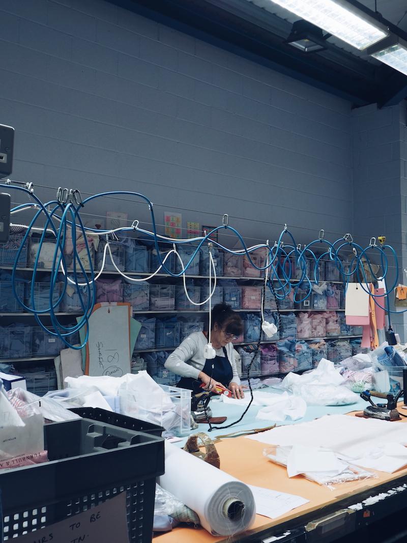 8 Turnbull and Asser bespoke shirt factory Quedgeley Gloucester