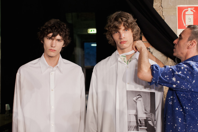 Raf Simons ss17 - a collaboration with the Robert Mapplethorpe estate