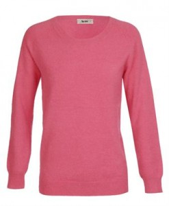 Acne pink angora seater ss12
