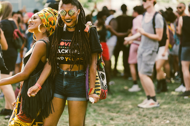 Afro Punk festival. Photo by Driely S