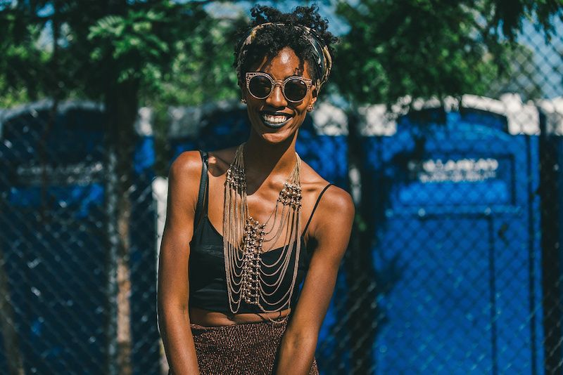 Afro punk festival beauty style 2015 - photo by Driely S
