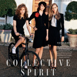 Vogue February – Angelo Pennetta shoots the Brit girls