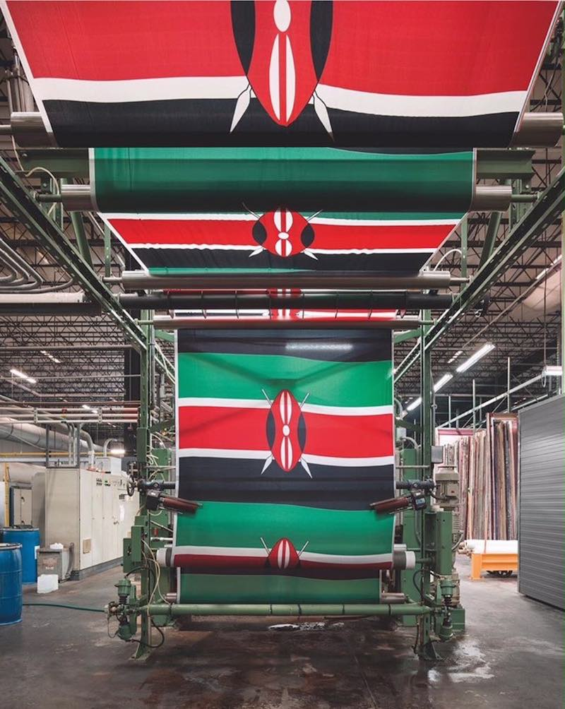 Annin Flagmakers factory by Christopher Payne